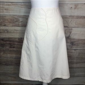 Lane Bryant Embroidered A-line Skirt